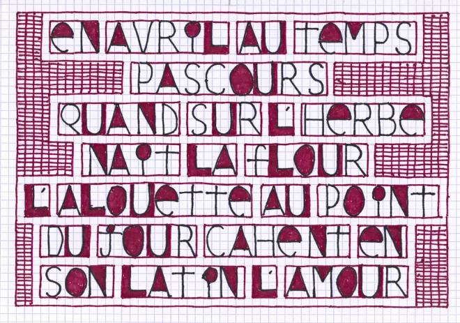 10 I L Poème Anonyme Français Xiiie Siècle En Avril Au